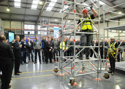 Layher UK Open Day 2011