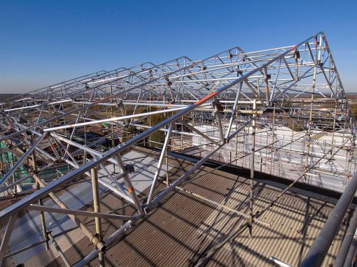 Major Grade I refurbishment gains from Layher Scaffold Systems