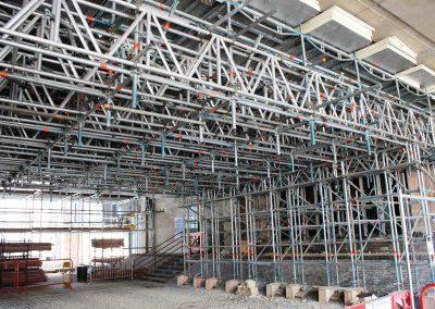 Layher Scaffolding and roofing systems central to iconic building refurbishment at the University of Cambridge