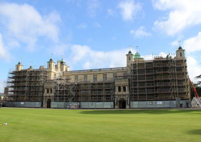 Layher Access and temporary roofing helps to make the most of England's heritage