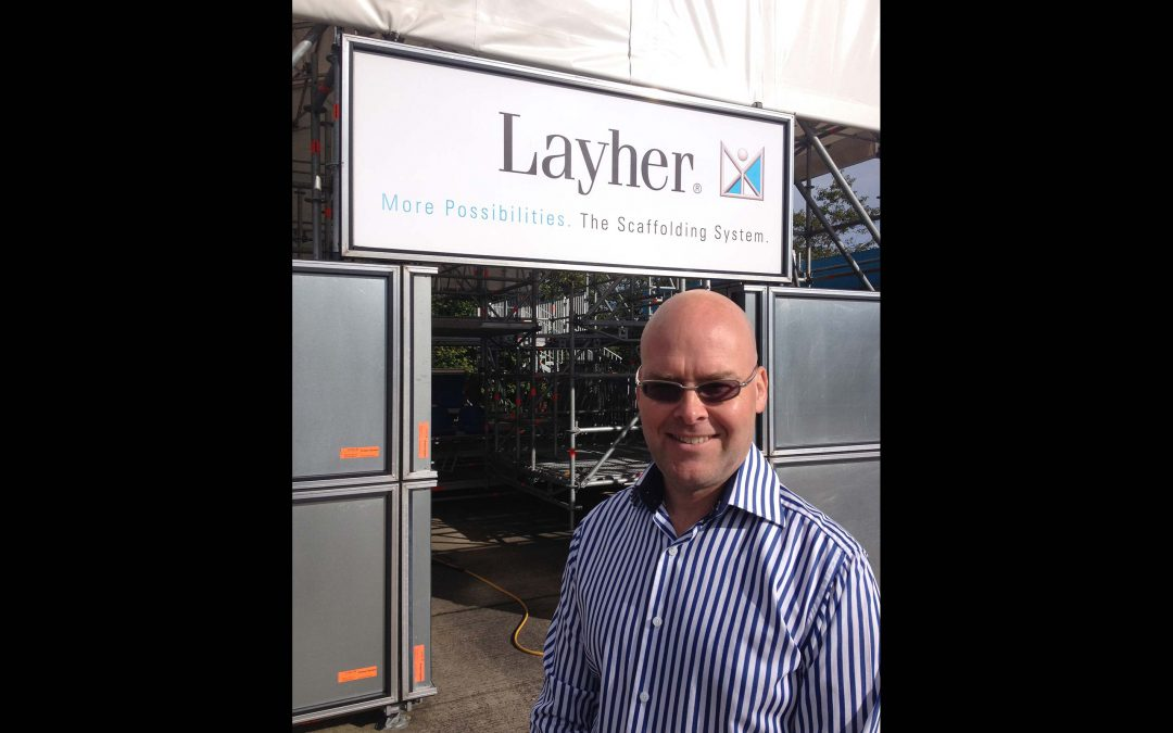 Senior appointment strengthens Layher's presence in Scotland