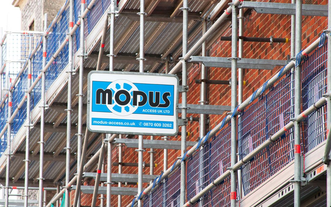 Modus Access UK makes comprehensive commitment to Layher Allround Scaffolding range
