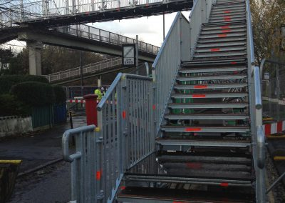 Layher's Allround Bridging System saves time and costs in London