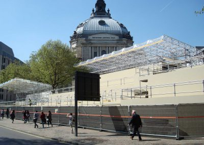 Media Structures Limited uses Layher to help bring Royal wedding splendour to the world Scaffolding