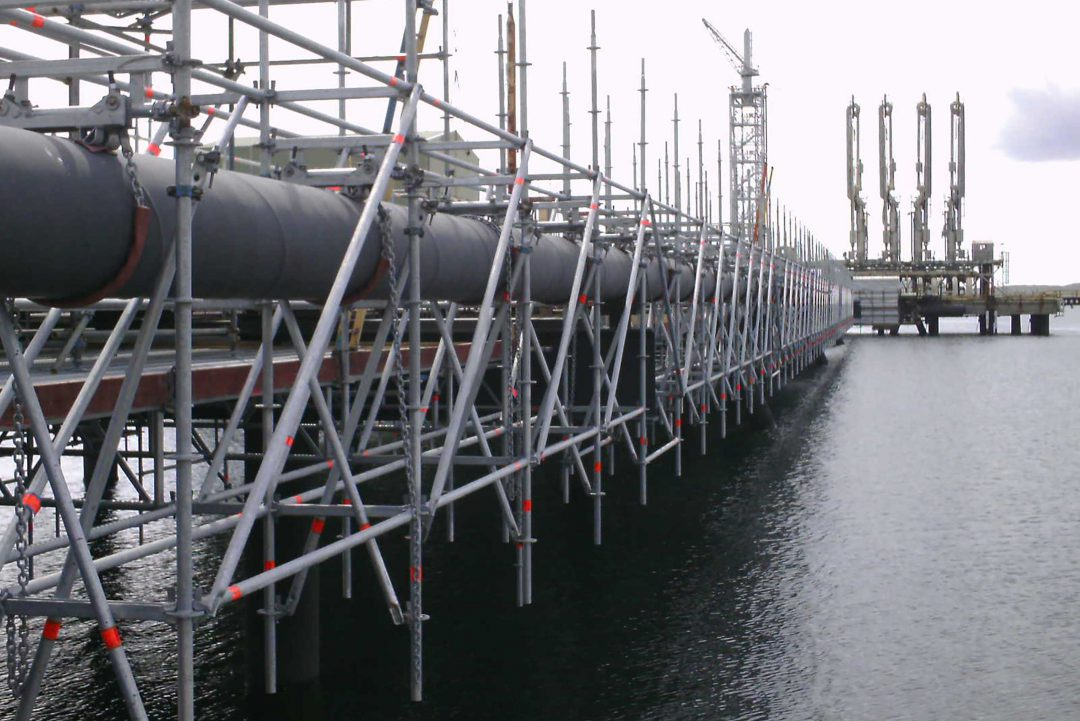Key advantages for jetty maintenance at Sullom Voe Terminal