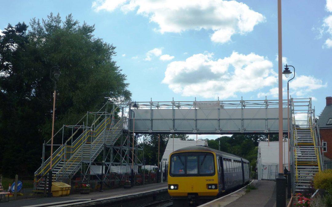 On track in Devon