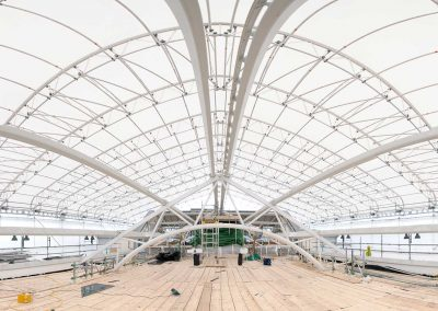 UK debut for Keder XL Roof brings key benefits to Leicester