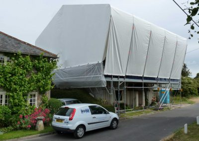 Layher equipment helps create picture perfect protection in Wiltshire