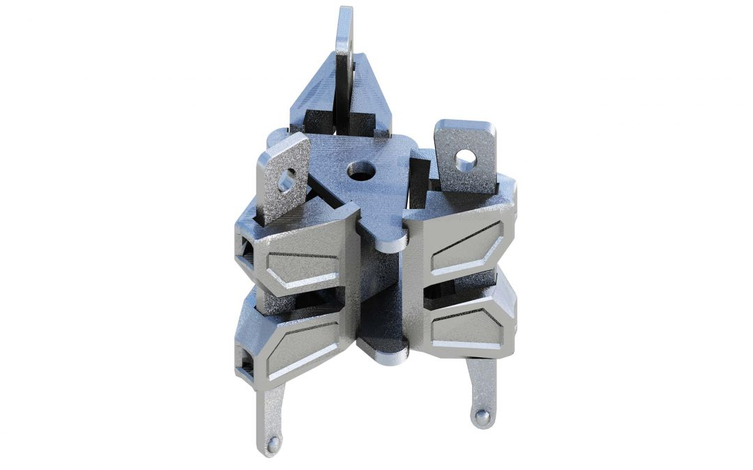 Added vertical strength with the Layher Triple Wedge Head Coupler