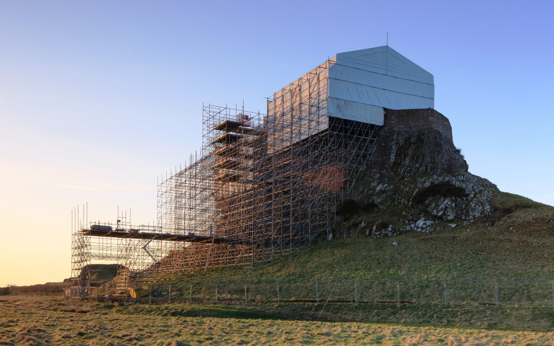 Layher scaffolding impresses during historic refurbishment at the edge of the North Sea