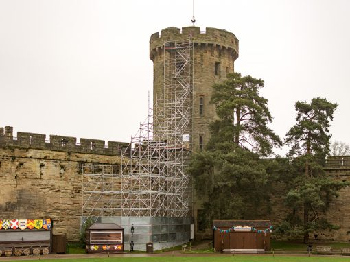 Layher scaffolding helps to keep history alive