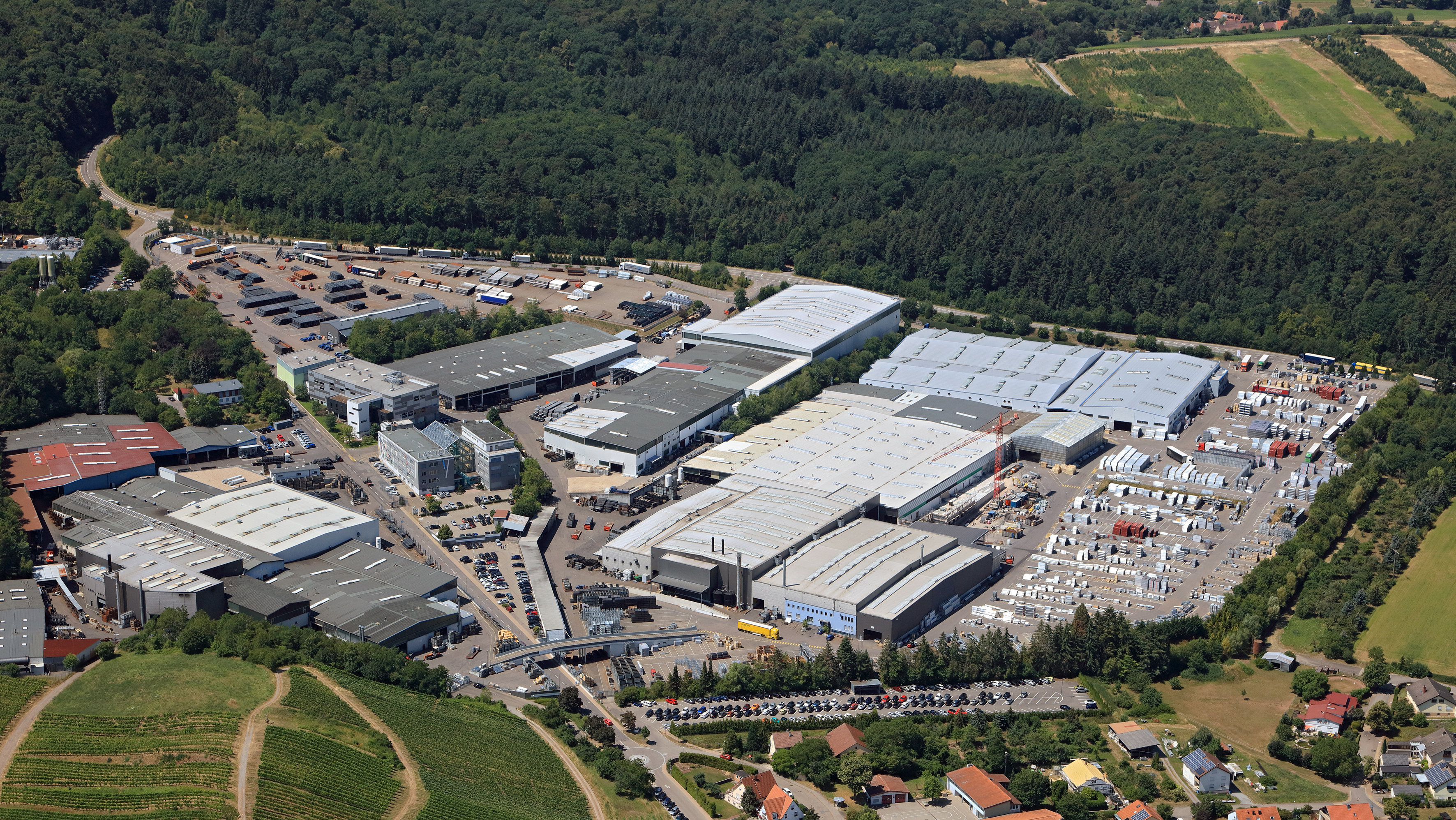 Layher - manufacturing plant